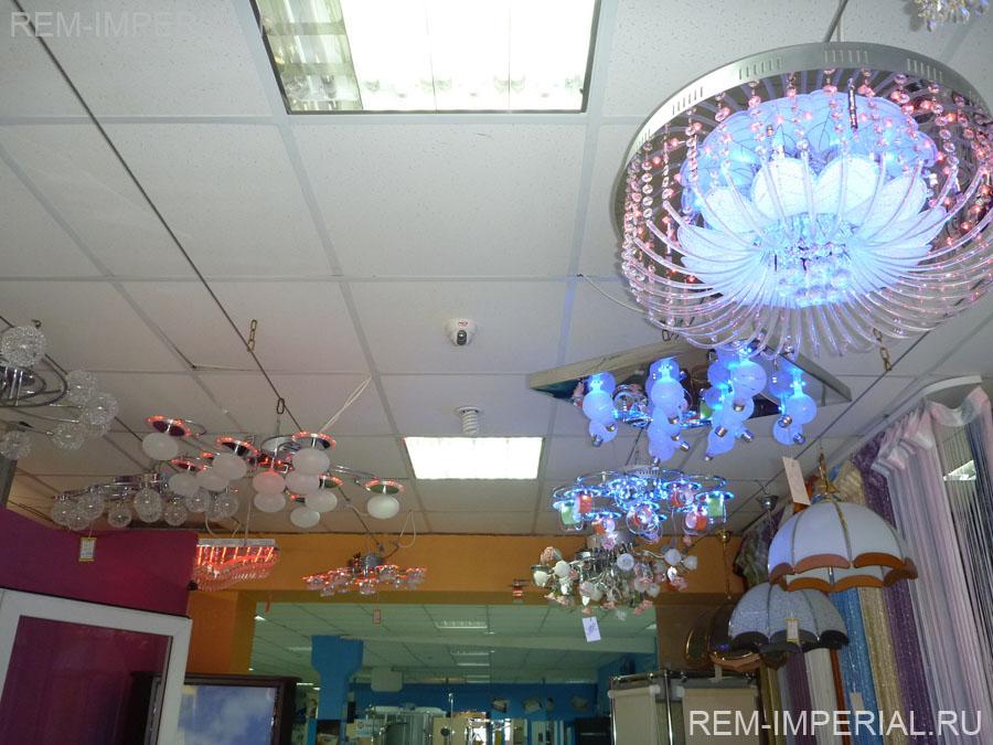 декоративные и функциональные светильники