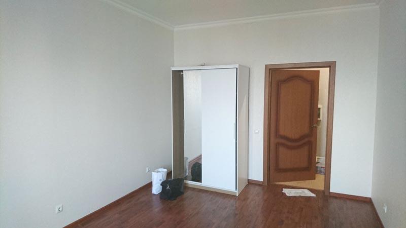 межкомнатная дверь, ламинат