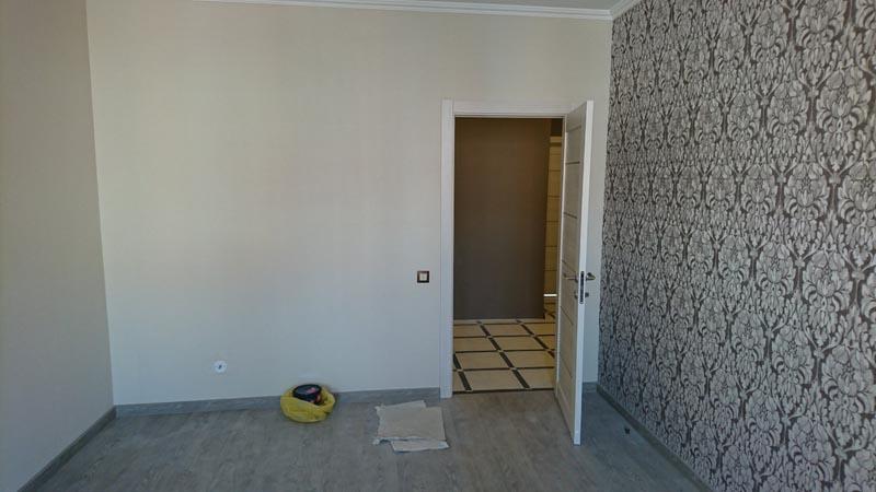 Геометрия комнаты не имеет перекосов