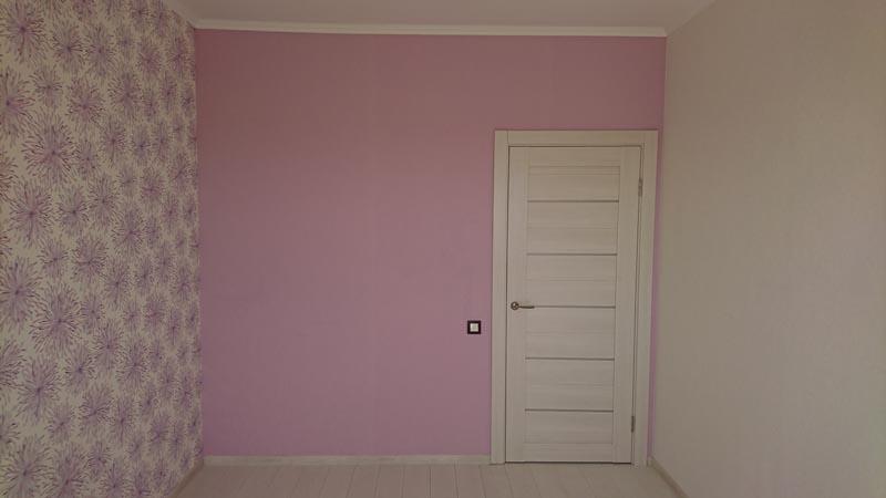 Комната в розовом тоне