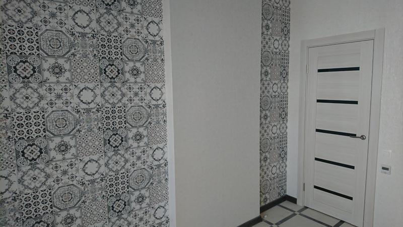 Комната в чёрно-белых тонах