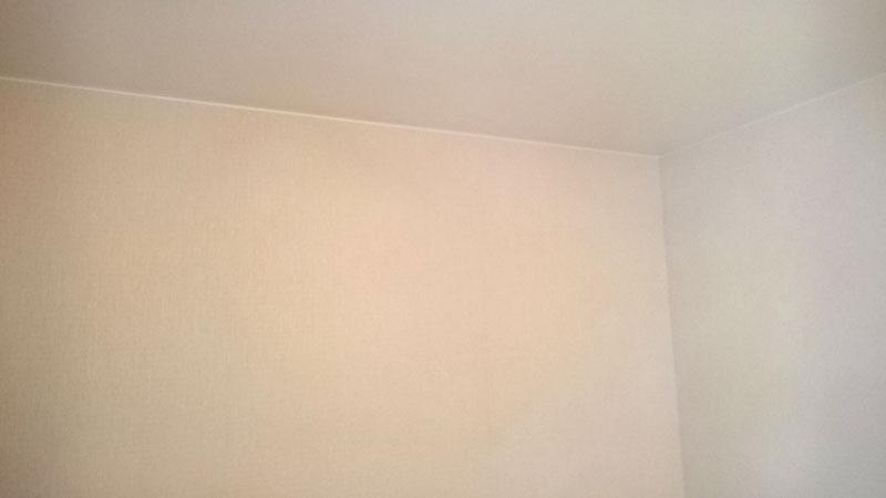 выровненные стены и потолки