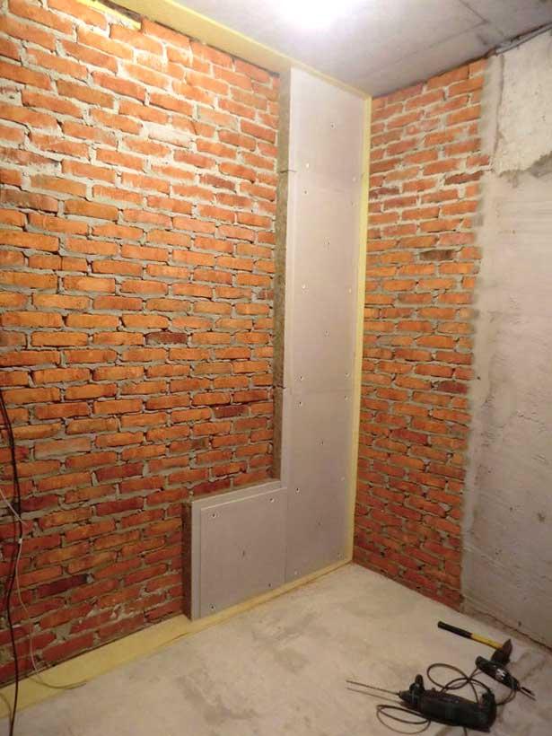 монтаж стеновых панелей zips-sinema на кирпич