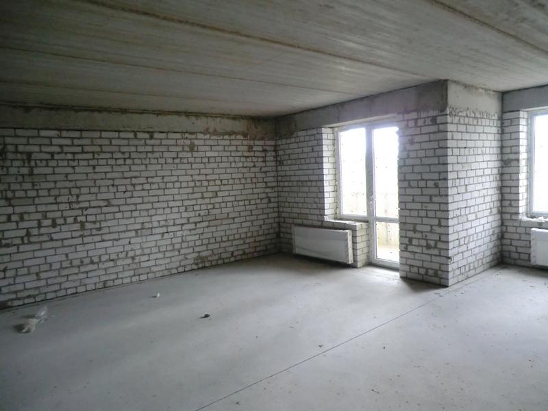 до ремонта в квартире были кирпичные стены