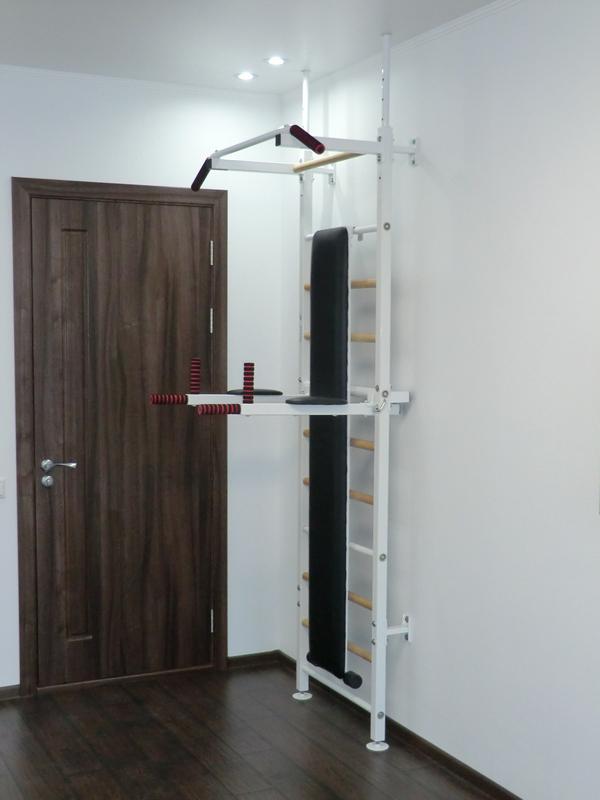 лестница для гимнастики в спальне