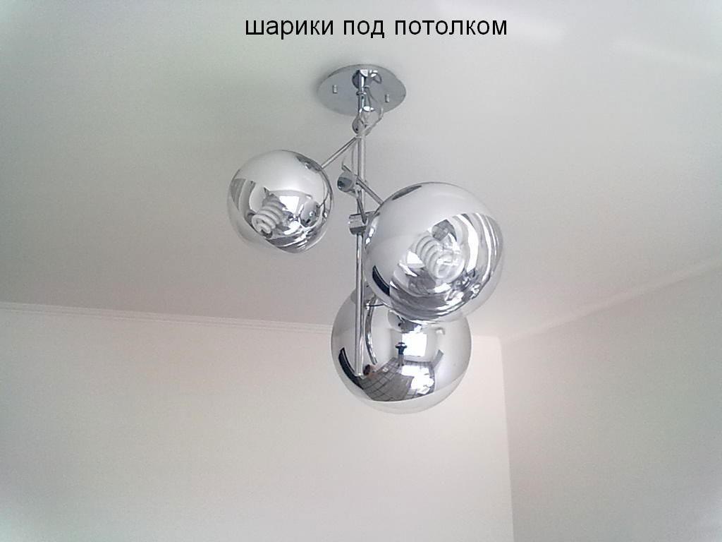 Люстры шары